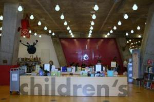 Children's section desk